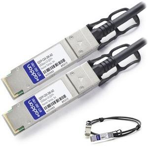 AddOn Twinaxial Network Cable QSFP-CX4-3M-AO