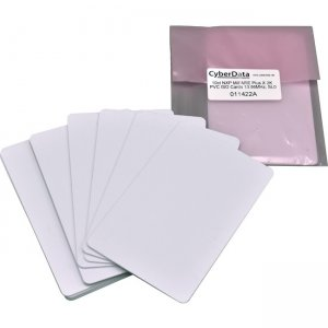 CyberData RFID Cards - Packet of 10 (Use with 011425, 011426) 011422