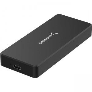 Sabrent USB Type-C Aluminum Enclosure for M.2 NVMe SSD in Black (EC-NVME -BLK) EC-NVME-BLK