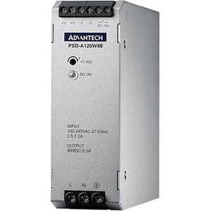 Advantech 120 Watts Compact Size DIN-Rail Power Supply PSD-A120W48