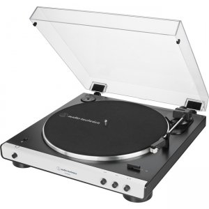 Audio-Technica Fully Automatic Wireless Belt-Drive Turntable AT-LP60XBT-WH AT-LP60XBT