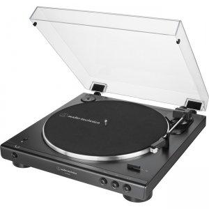 Audio-Technica Fully Automatic Wireless Belt-Drive Turntable AT-LP60XBT-BK AT-LP60XBT