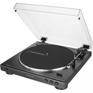 Audio-Technica Fully Automatic Belt-Drive Turntable AT-LP60X-BK AT-LP60X