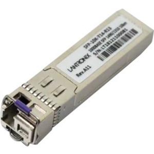 Lantronix SFP Fiber Transceiver BiDi 10km 1000BASE-BX 1490nm-TX/1310nm-RX SM SFP-10K-T14-R13