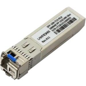 Lantronix SFP Fiber Transceiver BiDi 10km 1000BASE-BX 1310nm-TX/1490nm-RX SM SFP-10K-T13-R14