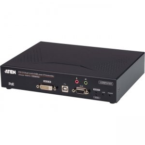 Aten 2K DVI-D Dual Link KVM over IP Transmitter with PoE KE6912T