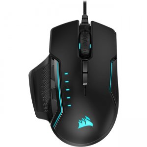 Corsair GLAIVE RGB PRO Gaming Mouse - Black CH-9302211-NA