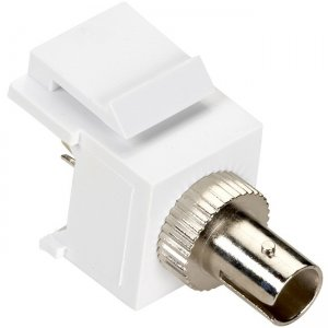 Black Box Keystone Snap Fitting - ST, White, 10-Pack FMT323-10PAK-R2