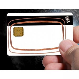 Access Smart Prox+Mifare+Java+MagStripeHybrid Smartcards SCEJ-A9951M1-0500