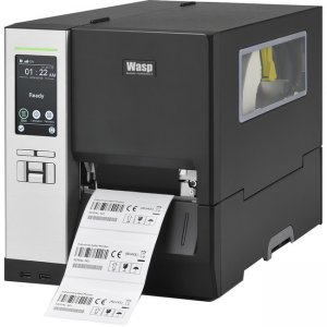 Wasp Industrial Barcode Printer with Peeler 633809005725 WPL614