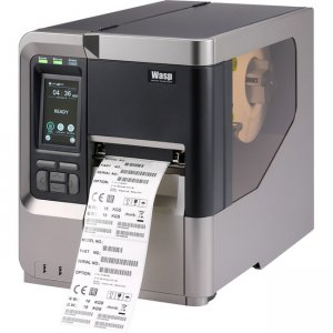 Wasp Industrial Barcode Printer with Cutter 633809003592 WPL618