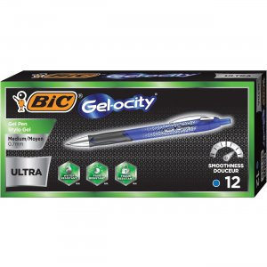 BIC Gel-ocity 0.7mm Ultra Retractable Gel Pen RGU11BE BICRGU11BE