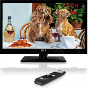 Pyle 18.5'' LED TV - HD Television with 1080p Support PTVLED18