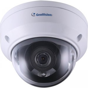 GeoVision 2MP H.265 Low Lux WDR IR Mini Fixed Rugged IP Dome GV-ADR2702