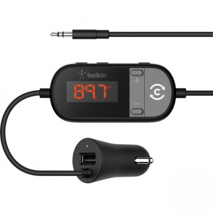 Belkin TuneCast In-Car 3.5mm to FM Transmitter F8Z880TT