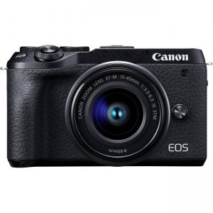 Canon EOS Mirrorless Camera with Lens 3611C011 M6 Mark II