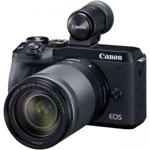 Canon EOS Mirrorless Camera with Lens 3611C021 M6 Mark II