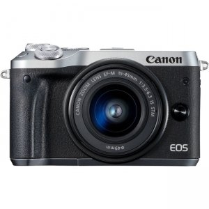 Canon EOS Mirrorless Camera with Lens 3612C011 M6 Mark II