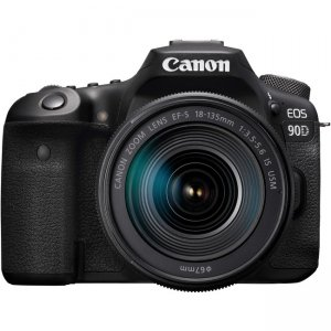 Canon EOS Digital SLR Camera with Lens 3616C016 90D