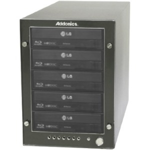 Addonics BD/DVD/CD Tower VP with eSATA / USB 3.0 ST5BDREU3