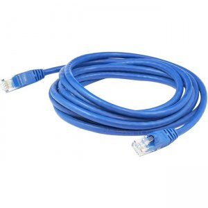 AddOn 30ft RJ-45 (Male) to RJ-45 (Male) Blue Cat.6 Straight STP PVC Copper Patch Cable ADD-30FCAT6