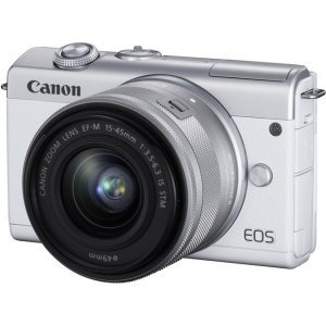 Canon EOS Mirrorless Camera with Lens 3700C009 M200