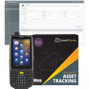 Wasp 2D Mobile Computer with QWERTY Keypad 633809006296 HC1