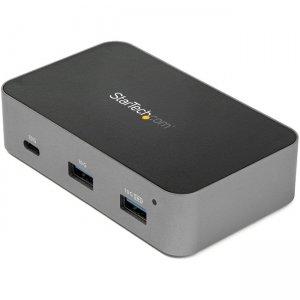 StarTech.com 3-Port USB-C HubwithLANPort-10 Gbps -2x USBA &1xUSB-C- Powered HB31C2A1CGS