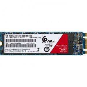WD Red SA500 NAS SATA SSD, 1TB WDS100T1R0B