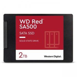 WD Red SA500 NAS SATA SSD, 2TB WDS200T1R0A