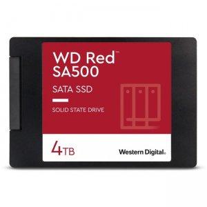 WD Red SA500 NAS SATA SSD, 4TB WDS400T1R0A