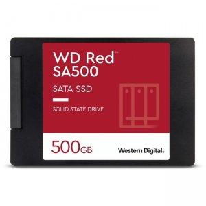 WD Red SA500 NAS SATA SSD, 500GB WDS500G1R0A