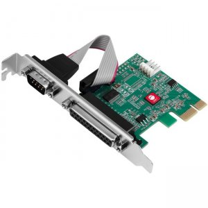 SIIG DP Cyber 1S1P PCIe Card JJ-E20311-S1