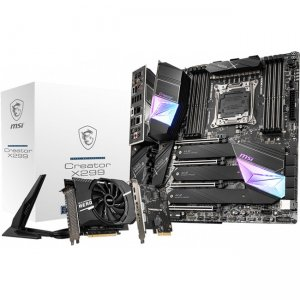 MSI Creator Desktop Motherboard CREATORX299 X299