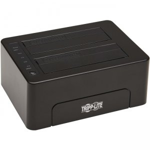 Tripp Lite 2-Bay USB 3.0 SATA Hard Drive Docking Station U339-E02