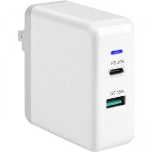4XEM USB-C USB-A 48W Dual Wall Charger 4XUSBCAPWR48W