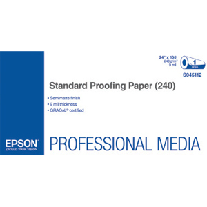 Epson Standard Proofing Paper S045112