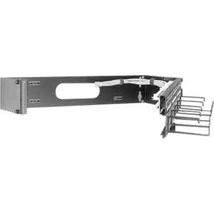 Middle Atlantic Products 2U Hinged Panel Mount HPM2