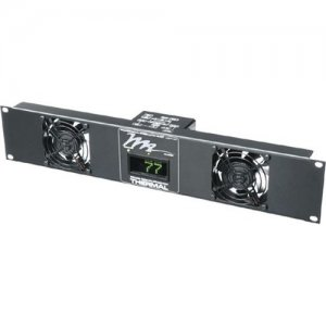 Middle Atlantic Products Fan Panel, 50 CFM, 24dB, w/Display UQFP2D 2D