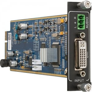 KanexPro Flexible One Input DVI Card with Audio FLEX-IN-DVI