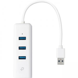 TP-LINK USB 3.0 3-Port Hub & Gigabit Ethernet Adapter 2 in 1 USB Adapter UE330