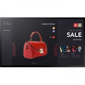 Samsung Edge-Lit LED Multi-Point Capacitive Touch Display for Business PM43F-BC