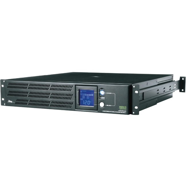 Middle Atlantic Products Premium Series UPS Rackmount Power, 8 Outlet, 2150VA/1650W, Indiv. Outlet UPS-2200R-8