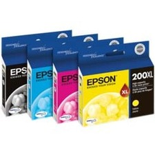 Epson Yellow Ink Cartridge, High Capacity T200XL420-S 200XL