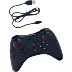 Verbatim Wireless Controller for Use With Nintendo Switch - Black 70221
