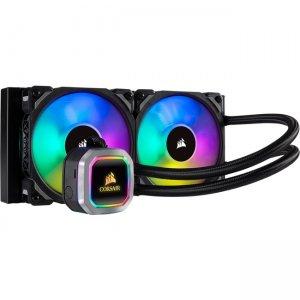 Corsair Hydro Series 240mm Liquid CPU Cooler CW-9060039-WW H100i RGB PLATINUM