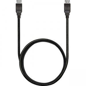 Kensington DisplayPort 1.4 (M/M) Passive Bi-Directional Cable, 6ft K33021WW