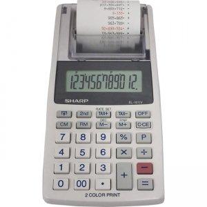 Sharp 12-digit Mini Printing Calculator EL1611V SHREL1611V EL-1611V