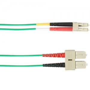 Black Box Multicolored Fiber Optic Patch Cable FOCMP62001MSCLCGN