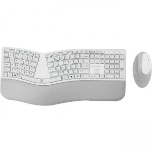 Kensington Pro Fit Ergo Wireless Keyboard and Mouse-Gray K75407US